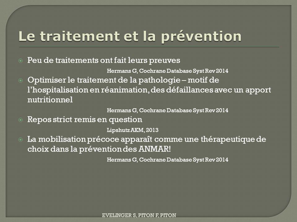  Augmentation du coût (hospitalisation en rééducation)  Magistris MR Revue Neurol 2002  Infections nosocomiales  G.R.E.N.E.R Intensive Care Med 1998; 24: 1242-50  Responsable d'une atteinte fonctionnelle et donc d'un handicap sur plusieurs années après – et aussi respiratoire.