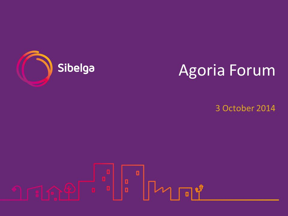 Agoria Forum 3 October 2014