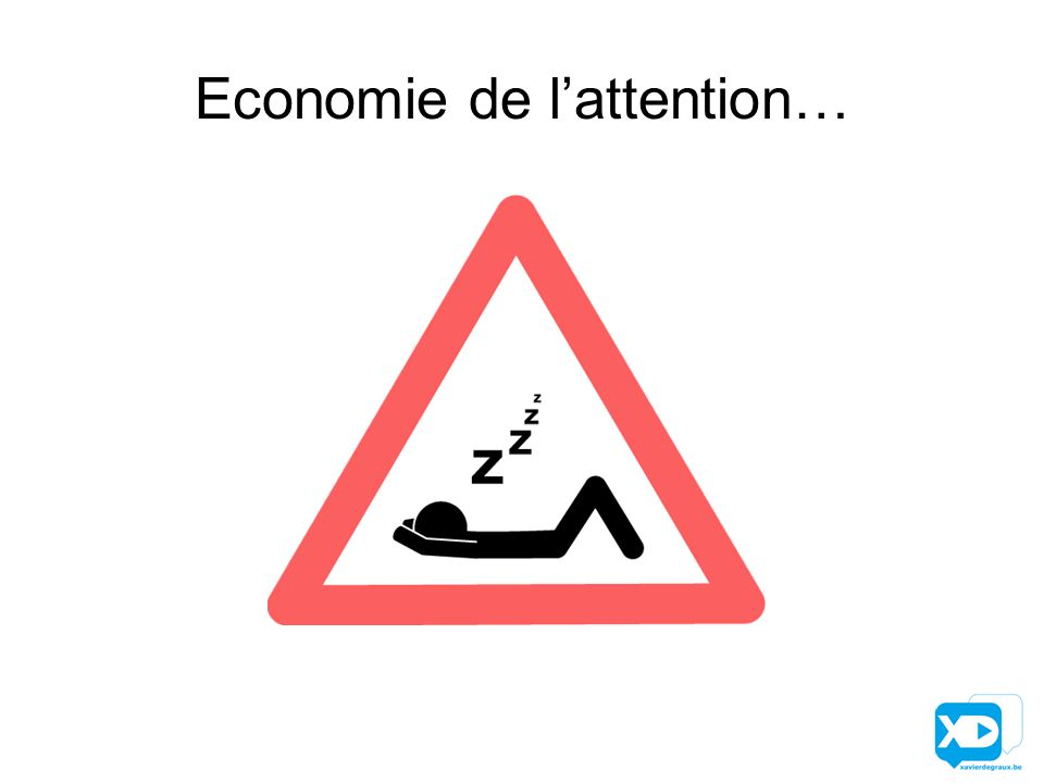 Economie de l'attention…
