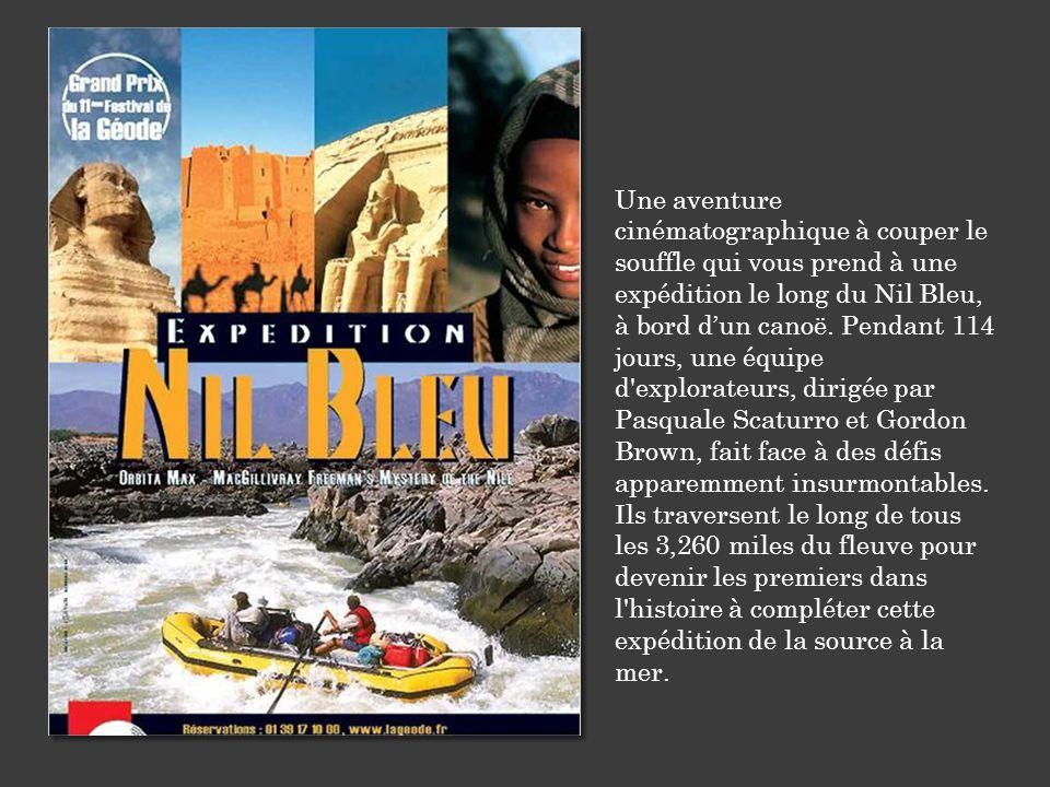 Une aventure cinématographique à couper le souffle qui vous prend à une expédition le long du Nil Bleu, à bord d'un canoë. Pendant 114 jours, une équi