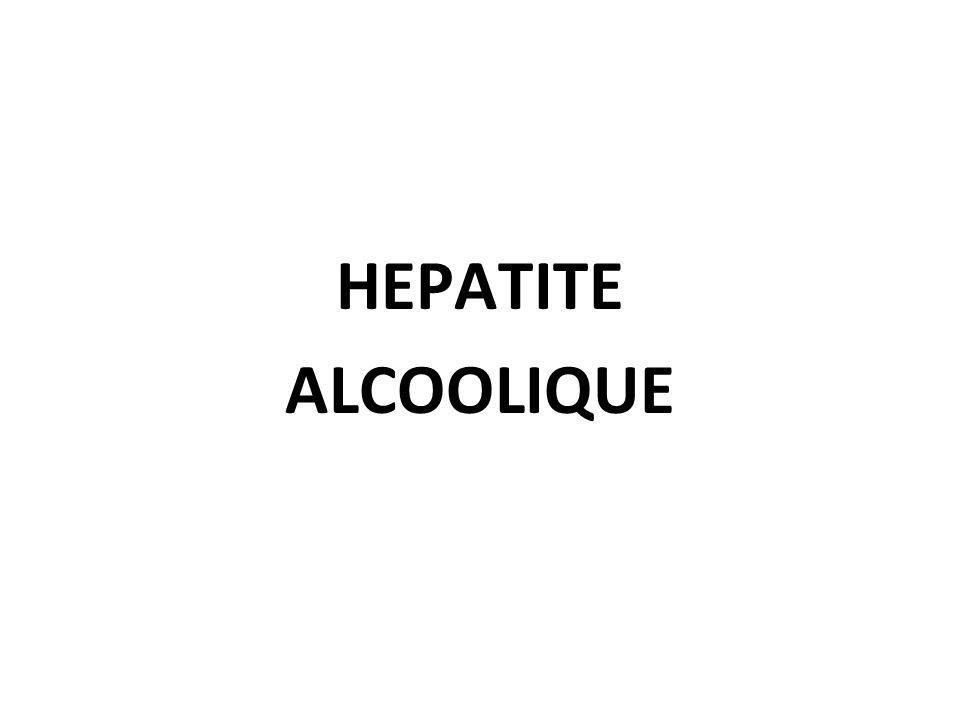 HEPATITE ALCOOLIQUE