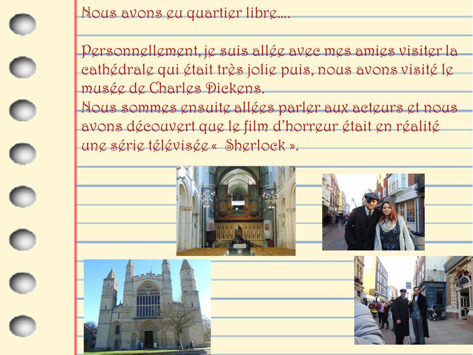 Comme en France, les églises possèdent de très beaux vitraux colorés.