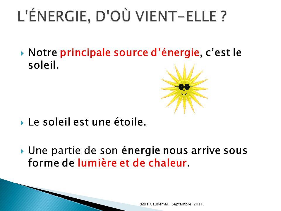  Il y a sortes d'énergie.