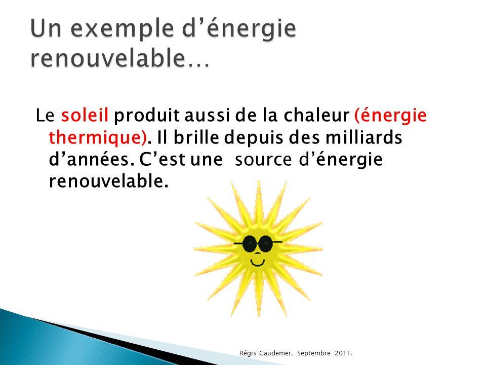  Il existe grandes sortes d'énergies non renouvelables.