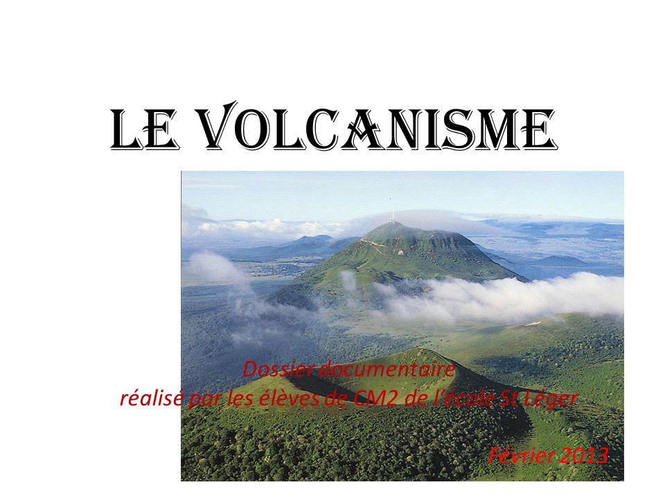 Plan 1.Coupe d'un volcan 2.Naissance d'un volcan 3.Les volcans explosifs 4.Les volcans effusifs 5.Les volcans sous-marin 6.Mr et Mme Krafft, volcanologues 7.Carte mondiale des volcans 8.Lexique