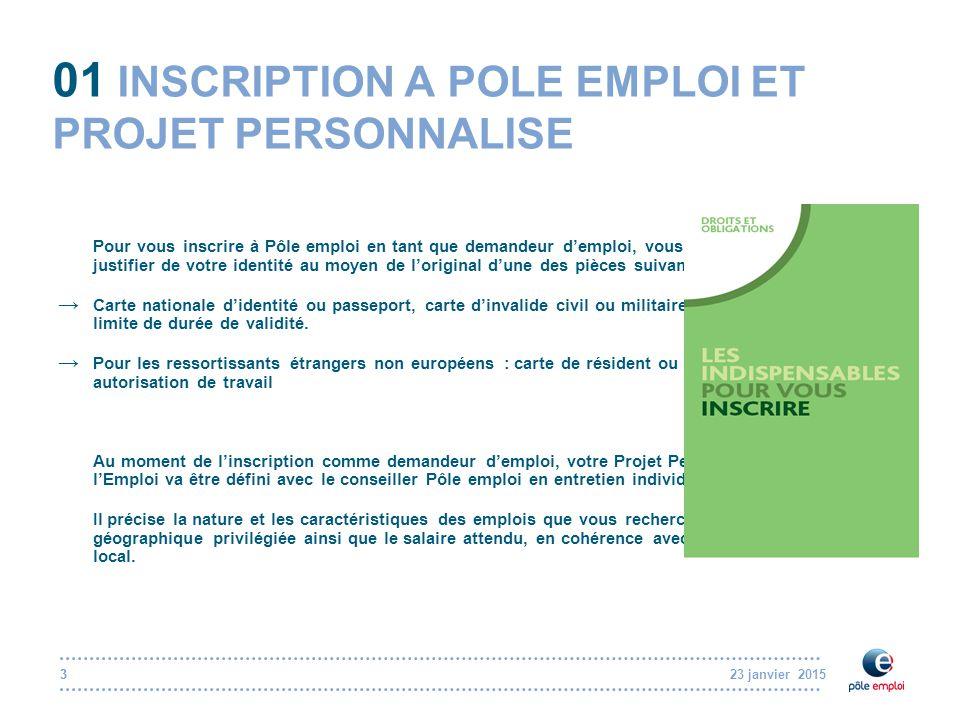 """Pr�sentation """"23 janvier 2015 Rencontre P�le emploi / journalistes ..."""