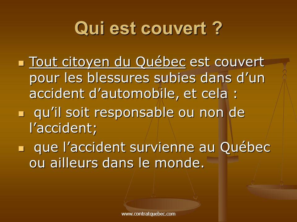 www.contratquebec.com Qui est couvert .