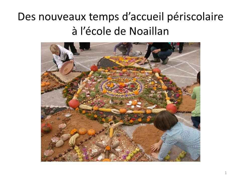 Des nouveaux temps d'accueil périscolaire à l'école de Noaillan 1