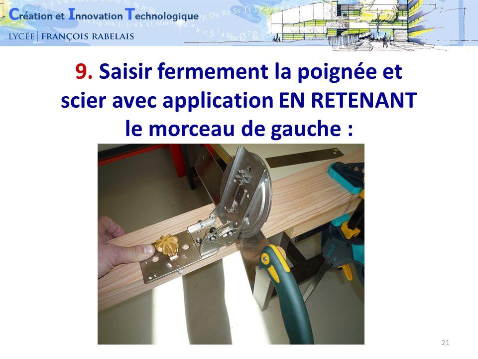 C réation et I nnovation T echnologique 21 9.