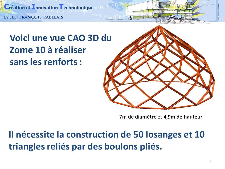 C réation et I nnovation T echnologique 29 Positionner les premiers éléments Boulonner chaque étage