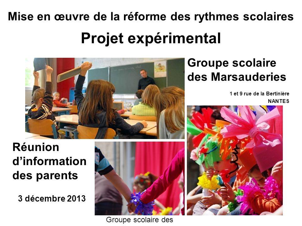 Rythme scolaire à l'école de Sévérac près de Nantes sur Orange Vidéos