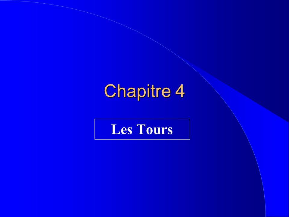 Chapitre 4 Les Tours