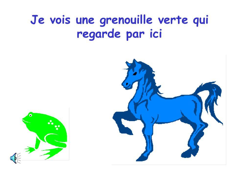 Cheval bleu, Cheval bleu, dis-moi ce que tu vois