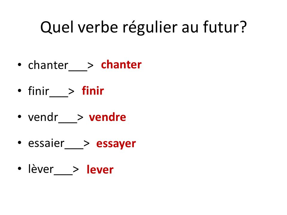 essayer conjugation subjunctive