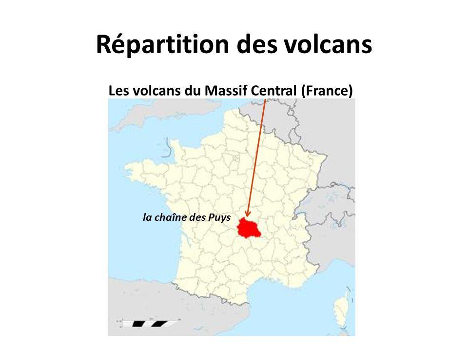 Les volcans du Massif Central (France) la chaîne des Puys
