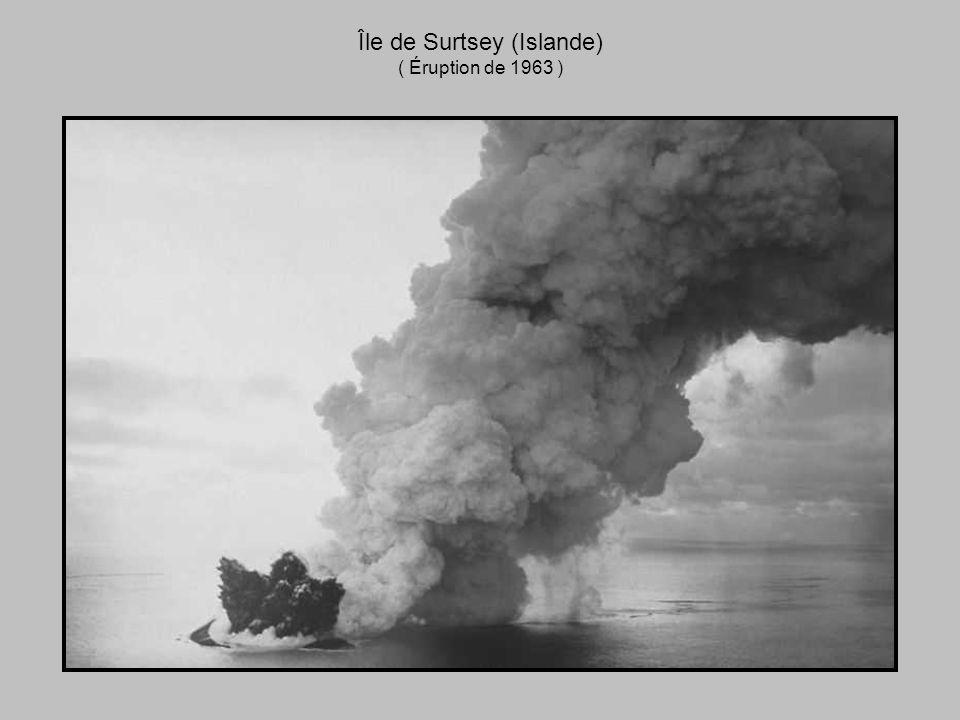 Île de Surtsey (Islande) ( Éruption de 1963 )