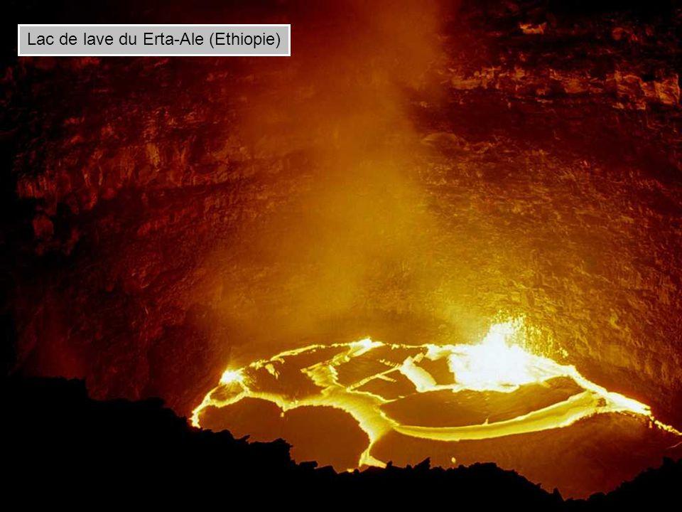 Lac de lave du Erta-Ale (Ethiopie)