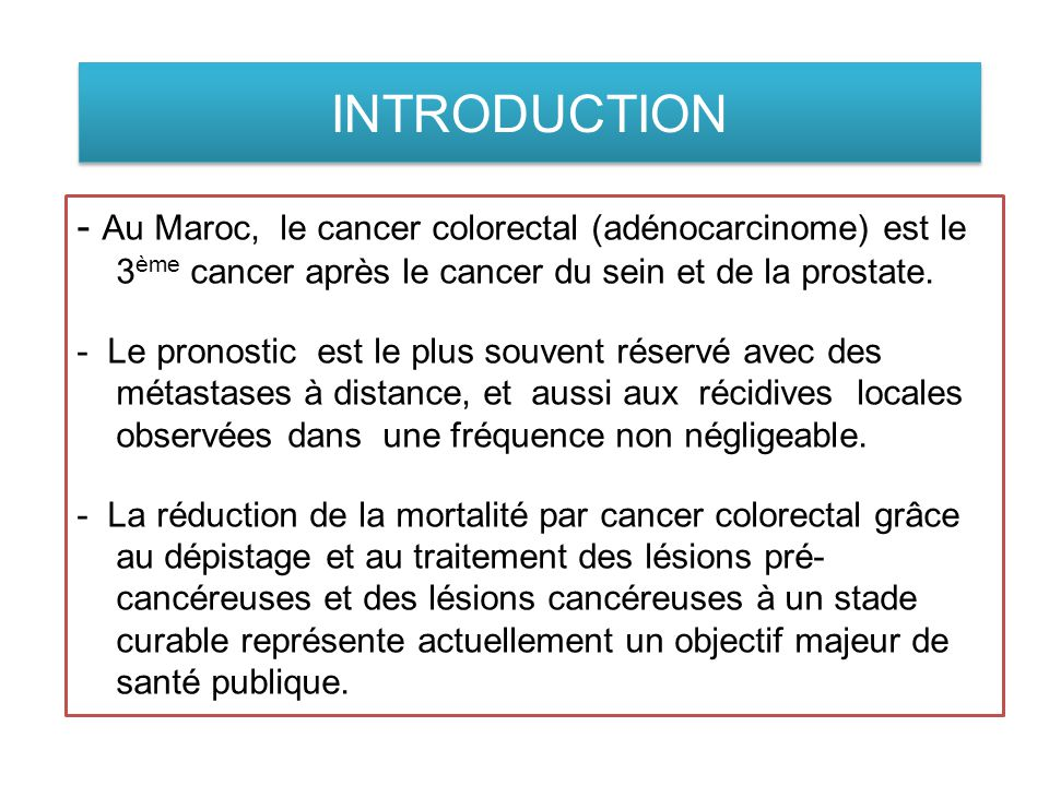 IMAGERIE DU CANCER RECTAL BUT : - Situer la lésion -Evaluer l'extension en hauteur -Extension en profondeur -Préciser le stade -Atteinte du méso-rectum -Distance tumeur/fascia recti -Stratégie thérapeutique