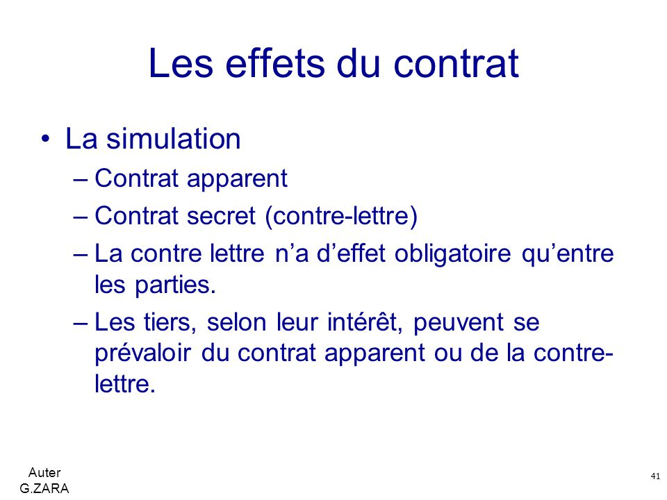 force obligatoire du contrat dissertation