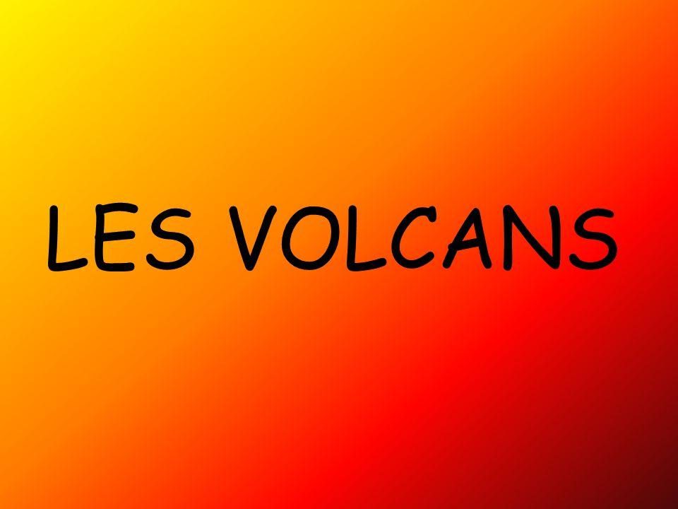 Schéma d'un volcan type