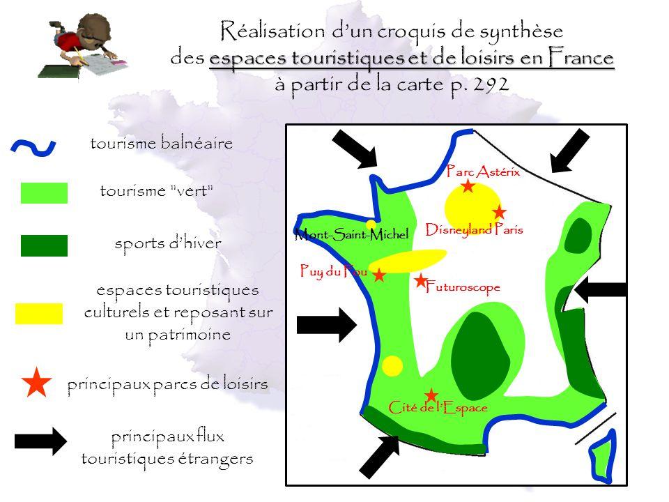 carte france tourisme vert - Photo