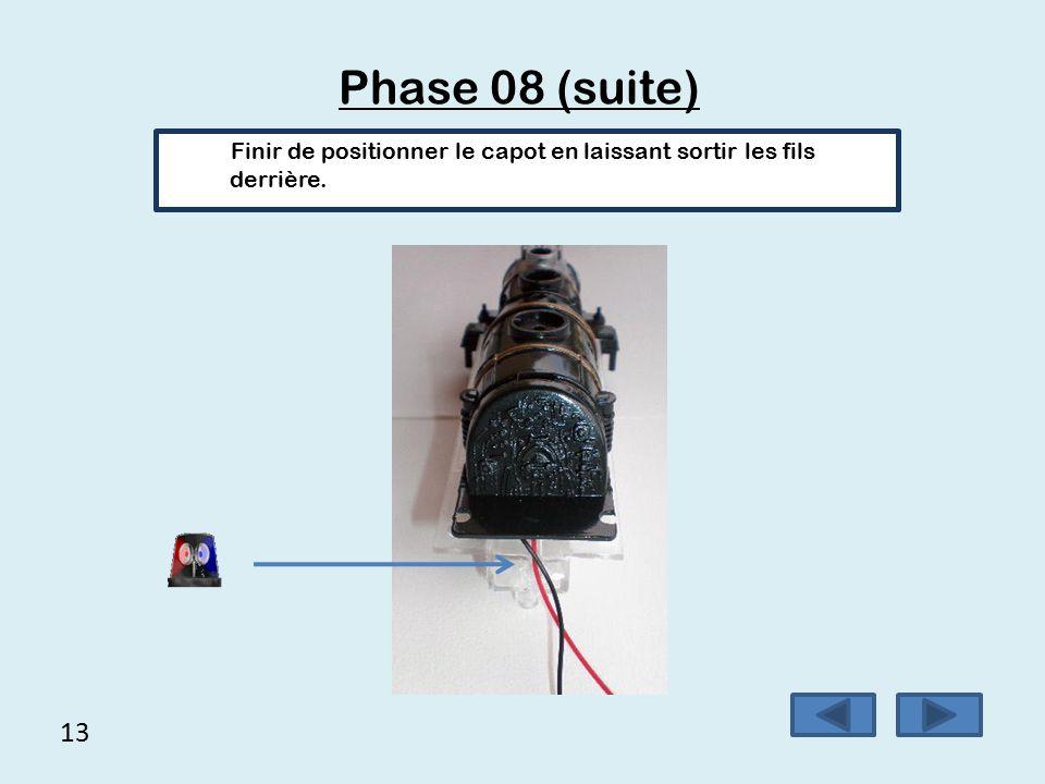 12 Phase 08 (suite) Vous devez obtenir le résultat suivant.