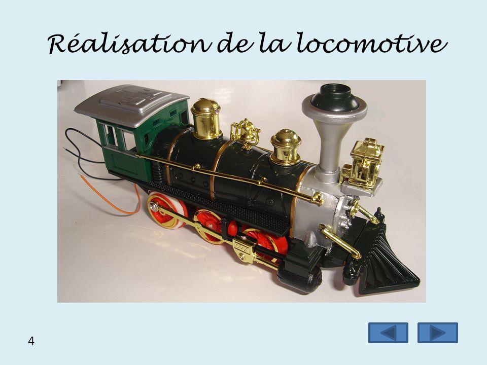 Réalisation de la locomotive 4