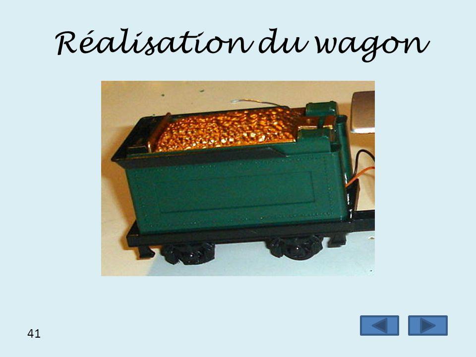 Réalisation du wagon 41