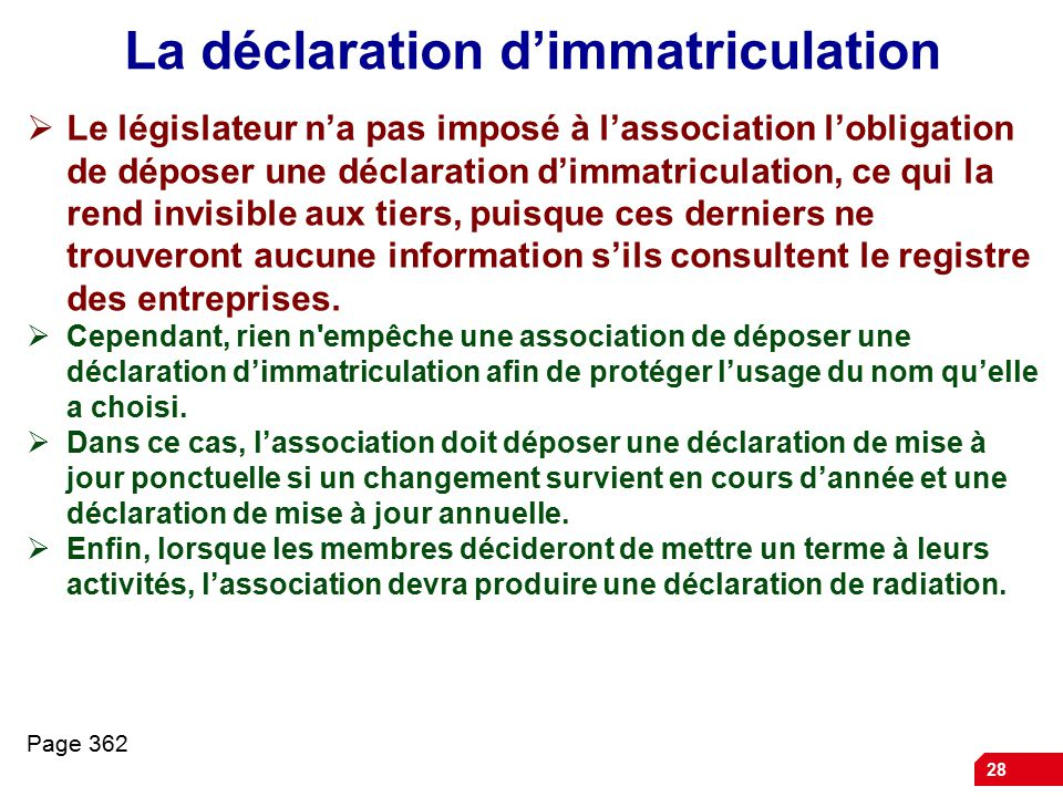déposer nom association
