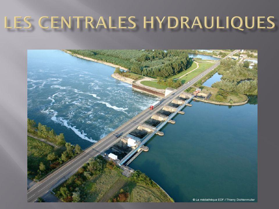 I/ La centrale Hydraulique d'Eguzon II/ L'Energie Primaire .