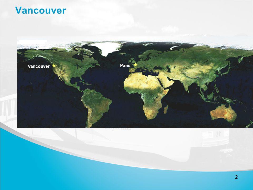 1 Vancouver, Canada Métro de banlieue Etude de cas Colloque ...
