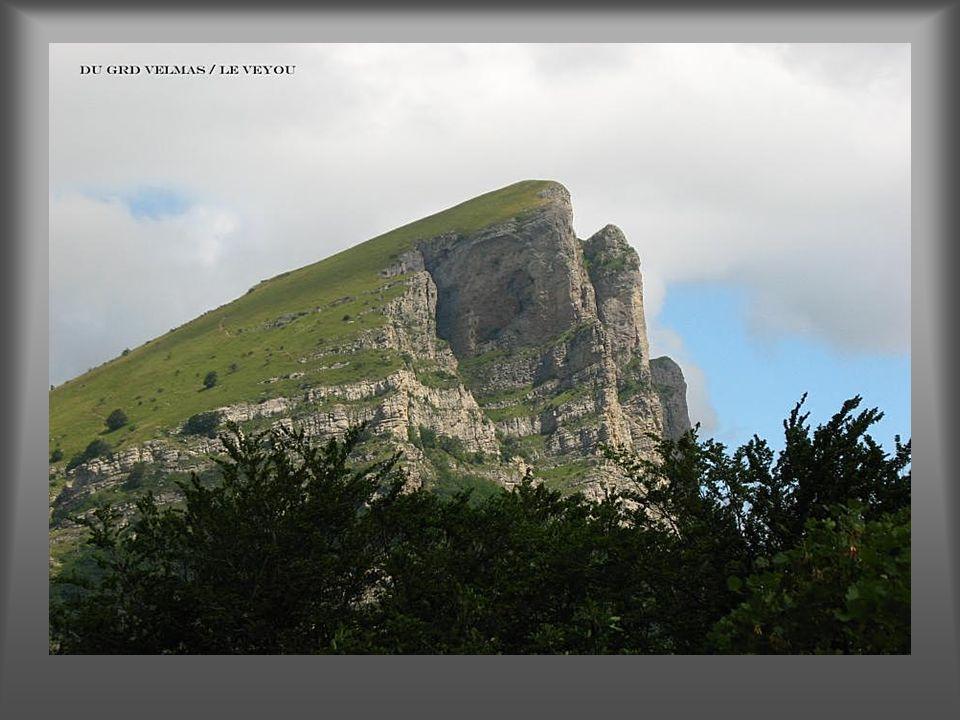 Depuis le col d'Ey le Mt Ventoux