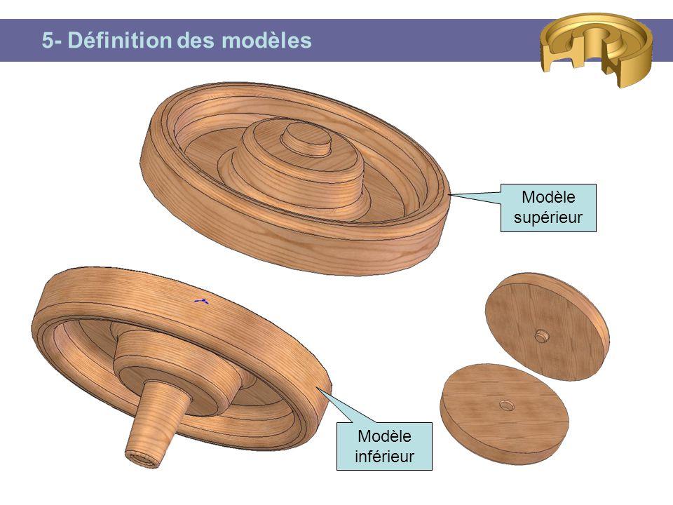 5- Définition des modèles Modèle inférieur Modèle supérieur