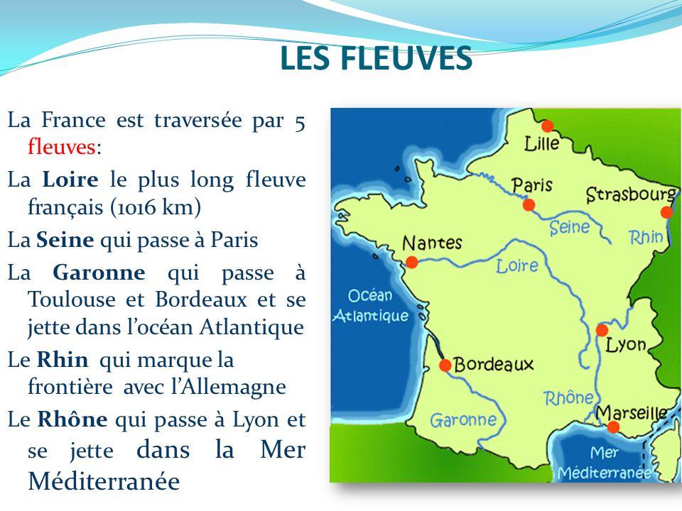 5 fleuves de france