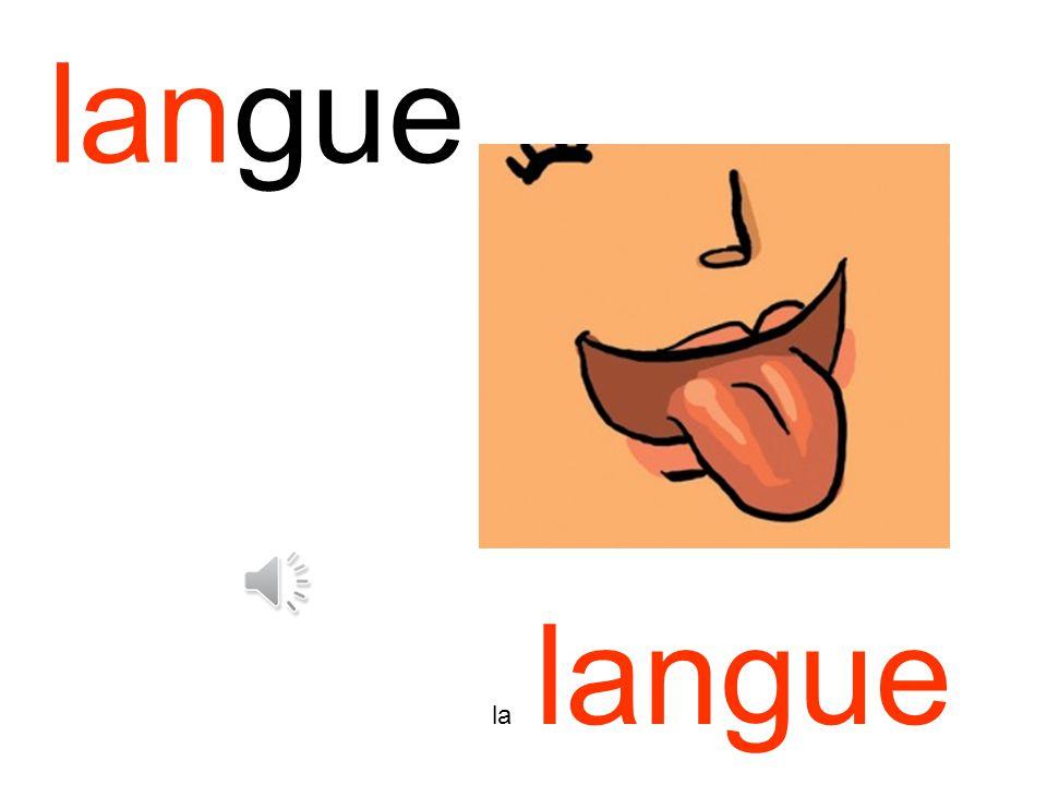 langue la langue
