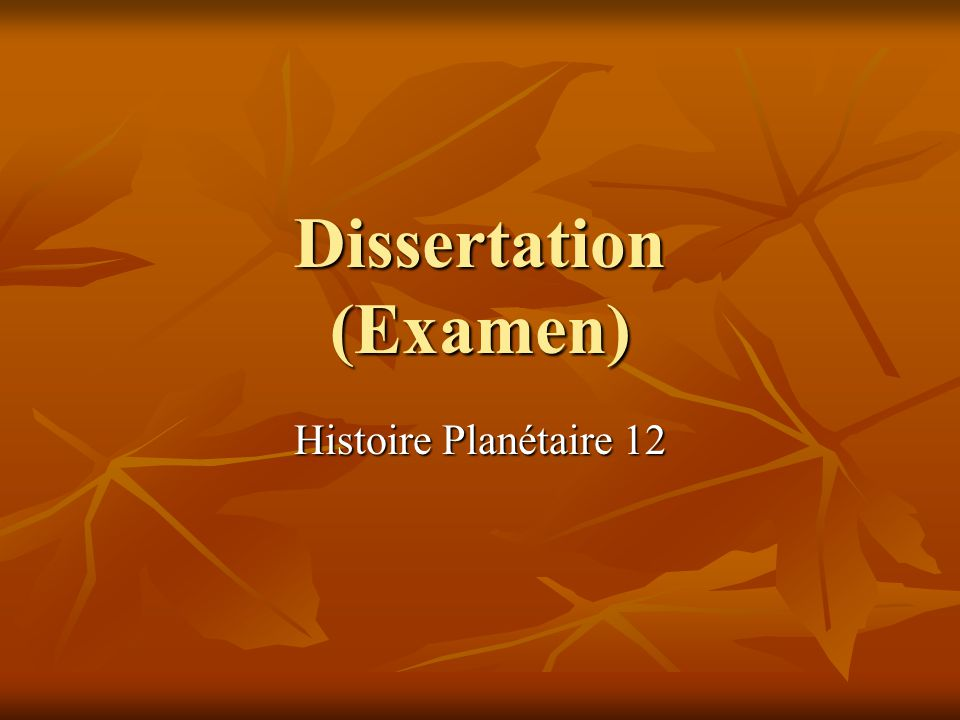 Exemple de Dissertation Philosophique – La