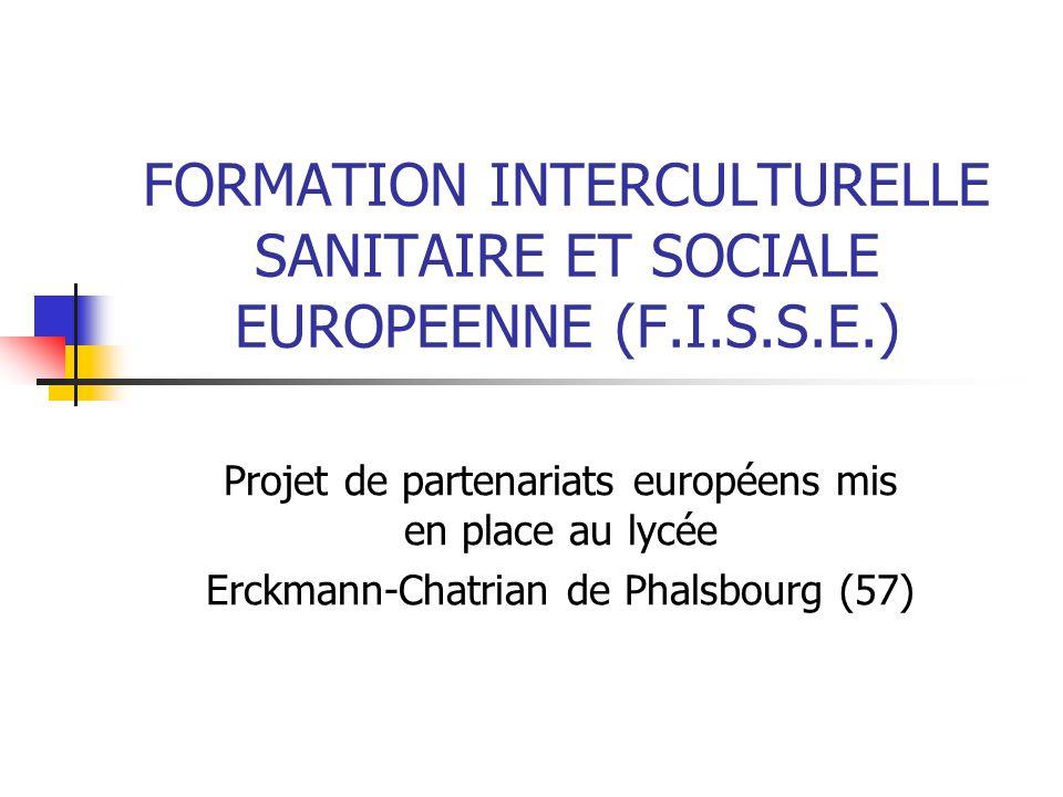 """Pr�sentation """"FORMATION INTERCULTURELLE SANITAIRE ET SOCIALE ..."""