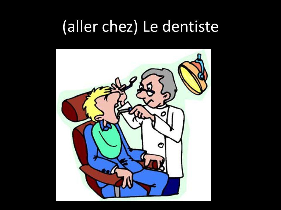 (aller chez) Le dentiste