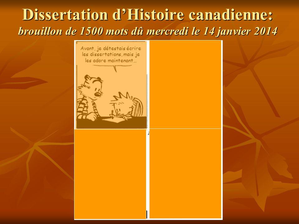 Comment reussir une dissertation d histoire