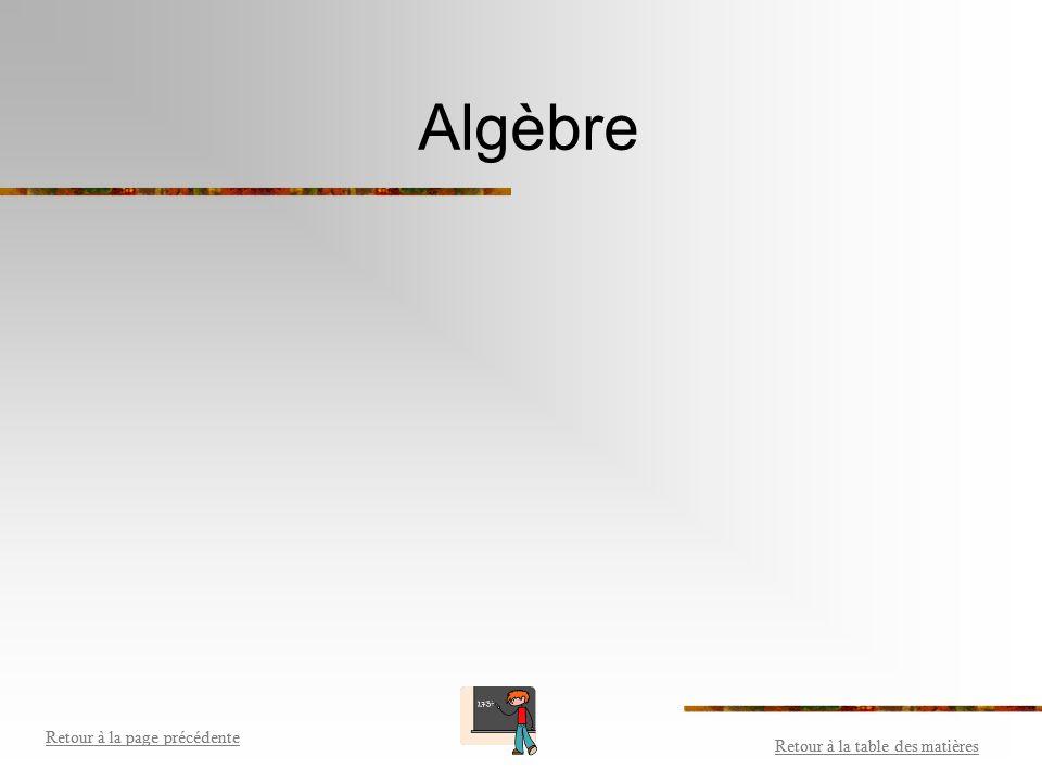 Transformer des décimaux en fractions ou en pourcentage Retour à la table des matières Retour à la page précédente Retour à la table des matières Reto