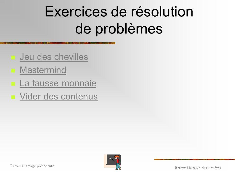 La résolution de problèmes Consulter les étapes pour m'aider à résoudre des problèmes. Consulter les étapes pour m'aider à résoudre des problèmes. M'e