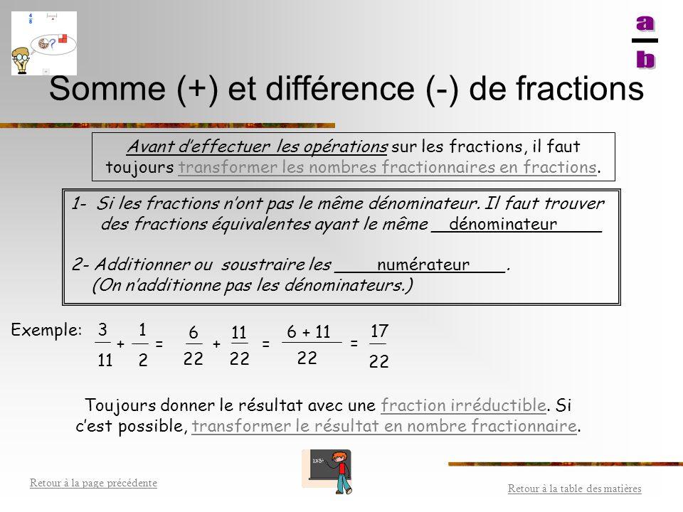 Quotient (  ) de fractions Pour diviser deux fractions, tu dois multiplier la première fraction par l'inverse de la deuxième fraction.multiplier EX: