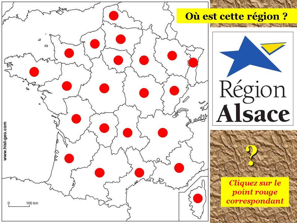 Il y a 22 régions en France métropolitaine les retrouver ? Saurez-vous Cliquez