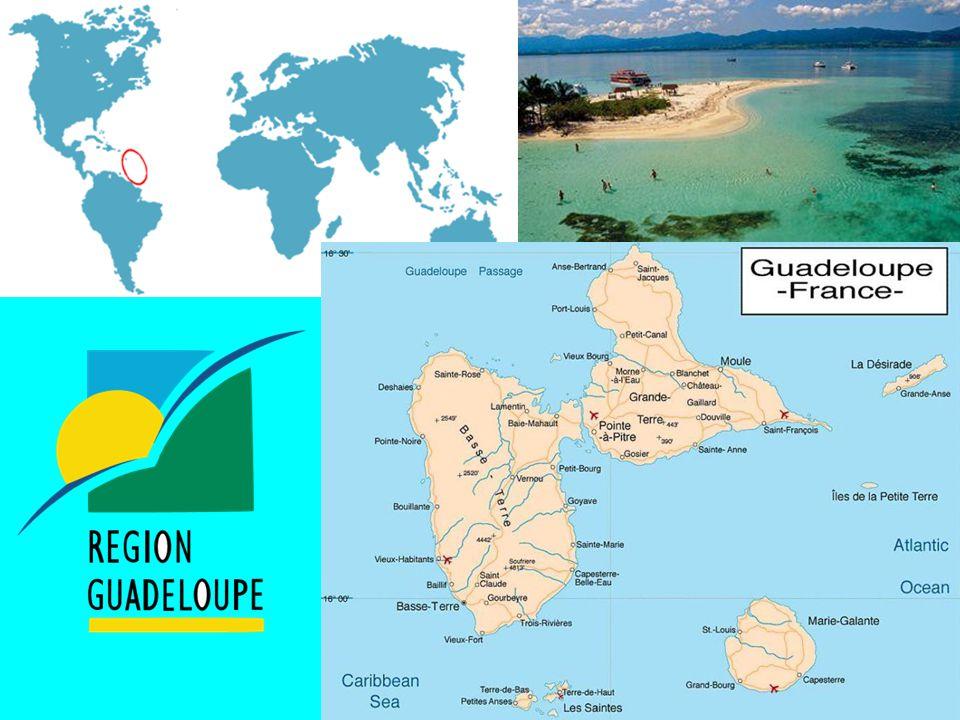 La France compte aussi 5 régions d'Outre-mer : 5 régions d'Outre-mer :