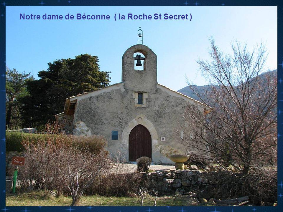 Chapelle ruinée de Béconne
