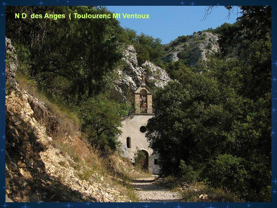 N D de Porpiére ( Mérindol les oliviers )