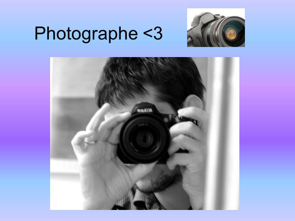 Photographe <3