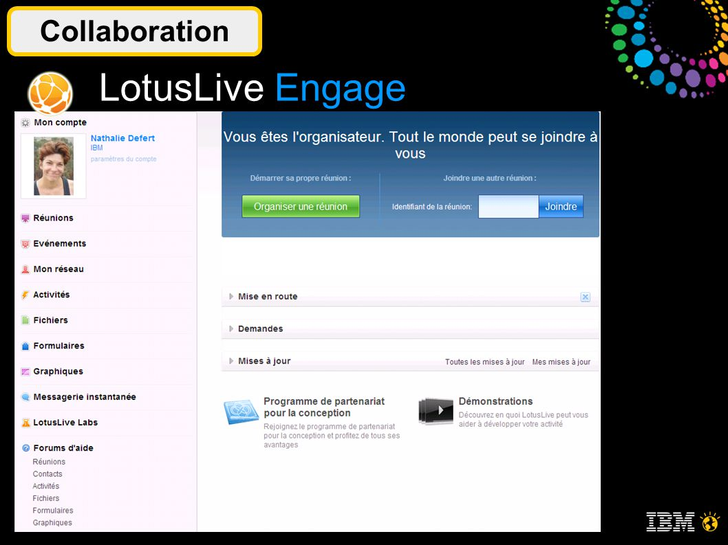 © 2011 IBM Corporation7 Collaboration LotusLive Engage