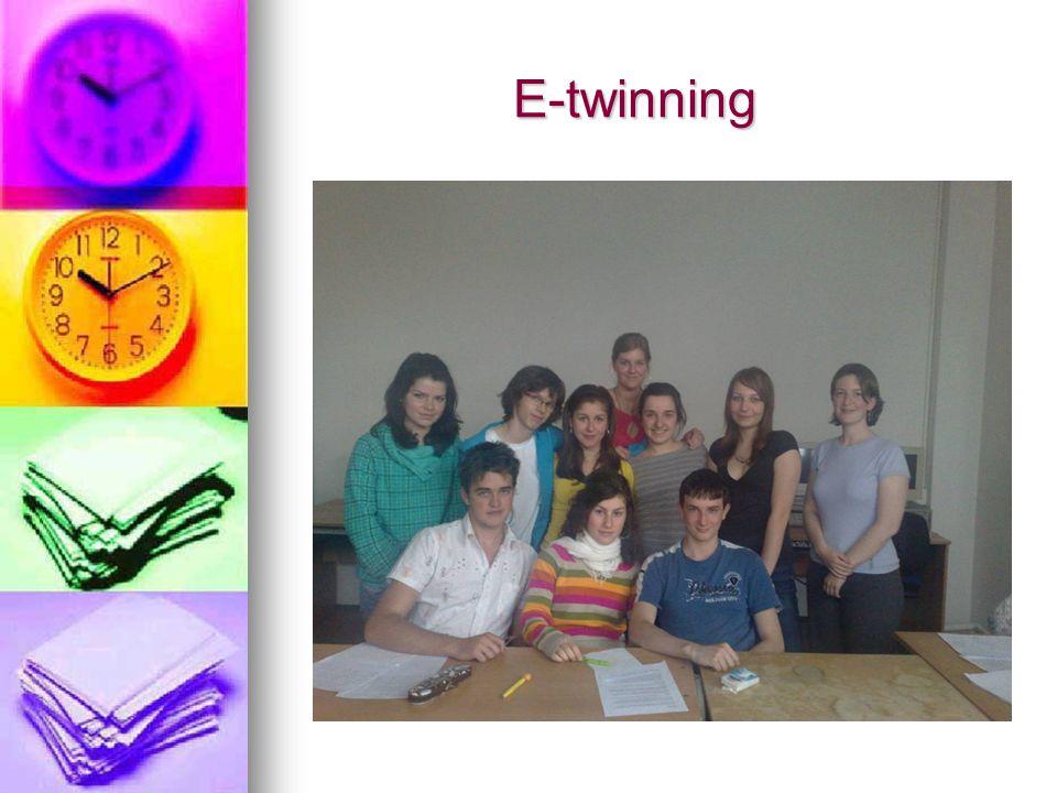 E-twinning E-twinning