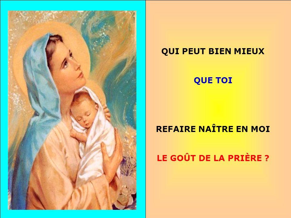 .. Pour fleurir Avec Lui Et pour porter Du fruit Que je suis là Ma Mère